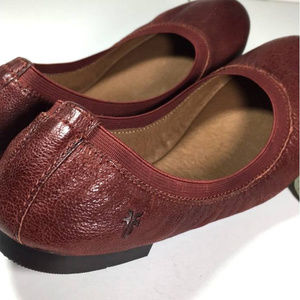 FRYE RARE Ballet Leather Flats Sz7